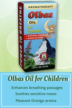 Give your kiddos the power to breathe! Olbas Oil for Children is specially formulated for little ones and those with sensitive noses. Milder than Original Olbas Oil and with a pleasant orange scent, it is the perfect aromatherapy choice for children. Chest Rub, Sinus Relief, Clove Essential Oil, Herbal Remedies, Aromatherapy, Peppermint, Feel Good, Herbalism, Children