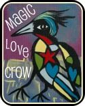 I love these Crow prints from Magic Love Crow.