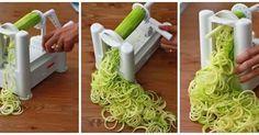 Fatiador de legumes em espiral, uma alternativa saudável! (Editado)