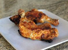 This 5-star oven fried chicken recipe is a tried and true favorite. A simple combination of flour, seasonings, and butter are all the ingredients you need.