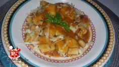 Nhoque de flocos de batata - Cozinha Simples da Deia