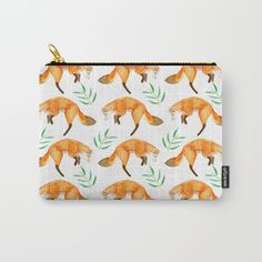 Organize your life with our Carry-All Pouches. Available in three sizes with wraparound artwork, these pouches are perfect for toiletries, art supplies or makeup. Even an iPad fits into the large size. Features include a faux leather pulltab for easy open and close, a durable canvas-like exterior and a 50/50 poly-cotton black interior lining. Machine washable.