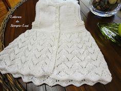 Labores de siempre: Vestido blanco