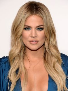 Khloé Kardashian's Hair Evolution | People - all over blonde