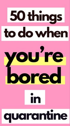 These tips will show you how you can find productive things to do when you're bored. Starting A Book, Starting A Podcast, Productive Things To Do, Things To Do At Home, Fun Things, Old Yearbooks, How To Do Yoga, How To Get, Making A Vision Board