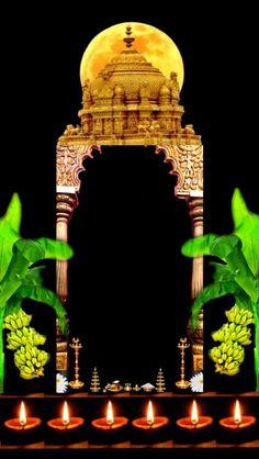 Frame Border Design, Lord Balaji, Shiva Lord Wallpapers, 3 Pm, Om Symbol, Indian Gods, Boarders, Krishna, Frames