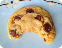 Life's Simple Measures: Chewy Peanut Butter Chocolate Chip Cookies