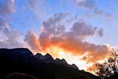 Al Poniente Cerro de las Mitras. Tardecita en el paraíso. Monterrey NL Mex. Of Course