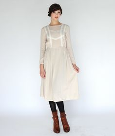 Beauchamp Lace Dress by Twenty Seven Names of New Zealand, available at Summerland -- in impossibly small sizes.