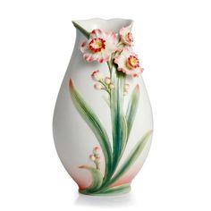 Image detail for -Franz Porcelain Collection Daffodil Design Sculptured Porcelain Small ...