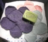 """""""Flower Power washcloth patterns"""" - my FAVORITE washcloths! I am proud and honored to say that these have kind of a 'cult' following - THANK YOU ALL! There are 3 different center designs featured, the petals are the same. Step by step instructions are featured on my site. ENJOY!!"""