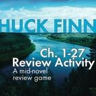 Your class is half-way through your study of The Adventures of Huckleberry Finn and you want to liven things up a bit. Take a break from literary a. Adventures Of Huckleberry Finn, Review Games, Teaching Strategies, Literature, Novels, Study, Activities, Literatura, Studio