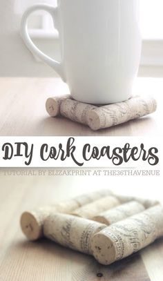 These Handmade Coasters Would Make The Best Gift!