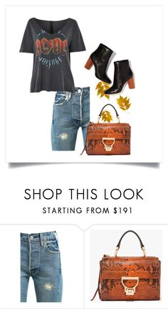 """#CasualChic"" by leliuscris on Polyvore featuring moda, Levi's y Topshop"