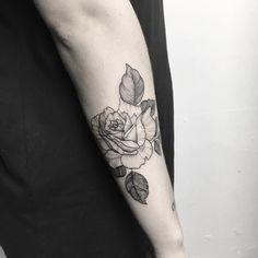 ·Beautiful Rose tattoo· by Ynnopya