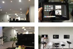 Luxury home in Vietnam automated by Leviton, including security, entertainment, lighting, and temps.