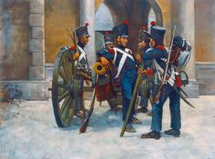 Young Guard Artillery, 1815