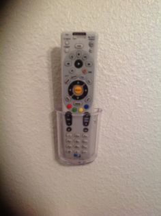 velcro remote control holder on wall sweet home ideas pinterest remote control holder. Black Bedroom Furniture Sets. Home Design Ideas
