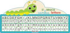 trasforma lettere corsivo