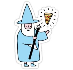 abracadabra alakaPIZZAm! • Also buy this artwork on stickers, apparel, phone cases, and more.