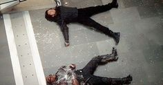 This part was so funny! <<< Bucky: You couldn't have done that sooner Sam: I hate you