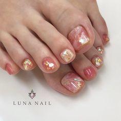 Installation of acrylic or gel nails - My Nails Feet Nail Design, Toe Nail Designs, Cute Toe Nails, Toe Nail Art, Nail Swag, Acrylic Toes, Natural Nail Designs, Organic Nails, Nails Only