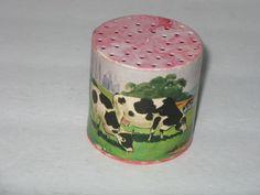 VINTAGE POCKET MOO COW TOY~ MADE IN JAPAN ~ WORKS