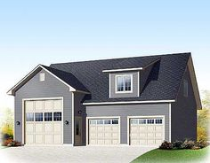 Rv garages with living quarters shop space and other for Rv garage with loft