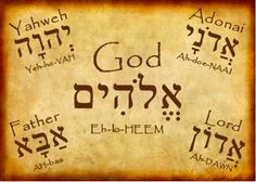 All the Names of Jehovah | The Love of CHRIST Compels Us: Hebrew Names of G-D