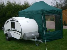 Entry Tent -  great idea for camping with mosquitos !
