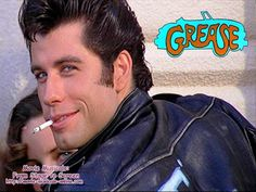 One of my all-time favourite smiles! John Travolta as Danny Zouko, Grease. Danny Zuko, John Travolta, Jean Reno, Anthony Hopkins, My Fair Lady, Jack Nicholson, James Dean, Movie Photo, Movie Tv
