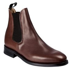 7887169b48 Brown Chelsea boot - shined