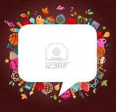 back to school - background with education icons Stock Photo - 10012697