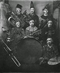 "inneroptics: ""  La Sousa Clown Band -Luna Park, 1909 """
