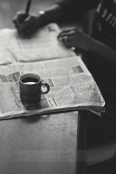 Crosswords 'n Coffee...