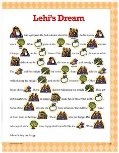 The Iron Rod FHE Story - Lehi's Dream - Picture Story