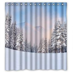 White Snow Christmas Tree Custom Shower Curtain Polyester Waterproof Shower Curtain 66*72 inches CF Shower curtain http://www.amazon.com/dp/B013LOL2XU/ref=cm_sw_r_pi_dp_Vd7pwb0WZG8AX