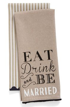 Eat, drink and be ma