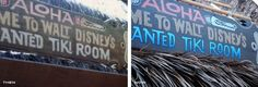 HUGE post showing the differences between Disney theme parks now and then. Enchanted Tiki Room hasn't changed much but lots of other things have.