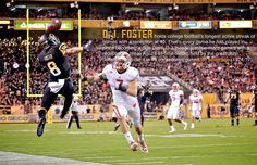 DJ Foster has a chance to break records at ASU. The Saguaro legend stayed true to ASU.