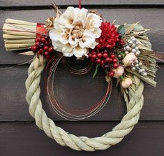 New Years Decorations, Mother And Child, Grapevine Wreath, Flower Art, Christmas Wreaths, Display, Seasons, Flowers, Handmade