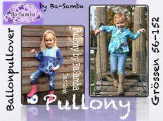 Ebooks Shop - ba-sambas - Pullony - Ballonpullover - Gr 56-162 - 5.90euro