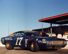 David Pearson Holman Moody Ford 1969