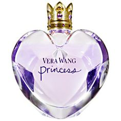 My personal favorite scent. It is described as having notes of  dark chocolate, pink frosting, amber, musk, and vanilla. There are other scents in the Vera Wang Princess line that is sure to appeal to the royalty in all of us.