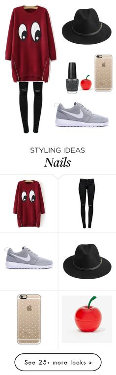 """""""Untitled #142"""" by alisoledesma-1 on Polyvore featuring J Brand, Tony Moly, Casetify, BeckSöndergaard and OPI"""