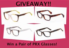 MyStyleSpot: GIVEAWAY: Win a Pair of PRX Glasses. OPEN WORLDWIDE! #contest #win #sweeps #giveaway #firmoo #sunglasses #prx #glasses #lenses #frames #fashion #style #mystylespot