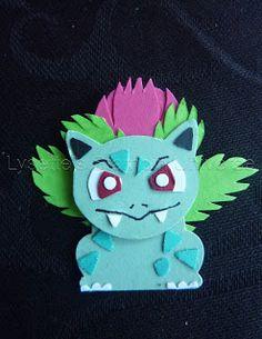 Lysette's Stampin Universe: Gotta Craft Them All Challenge 1 - 9 Pokemon Craft, Pokemon Party, Pokemon Go, Paper Punch Art, Punch Art Cards, Foxy Friends Punch, Craft Punches, Stamping Up Cards, Animal Cards