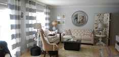 Tipos y diseños de cortinas para el salón - https://www.decoora.com/tipos-y-disenos-de-cortinas-para-el-salon/