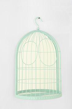 UO Mirrored Birdcage Jewlery Display $19.99  Want!