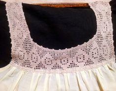 Crochet Art, Thread Crochet, Crochet Lingerie, Crochet Collar, Fabric Necklace, Vintage Sewing Patterns, Pretty Dresses, Night Gown, Lace Shorts